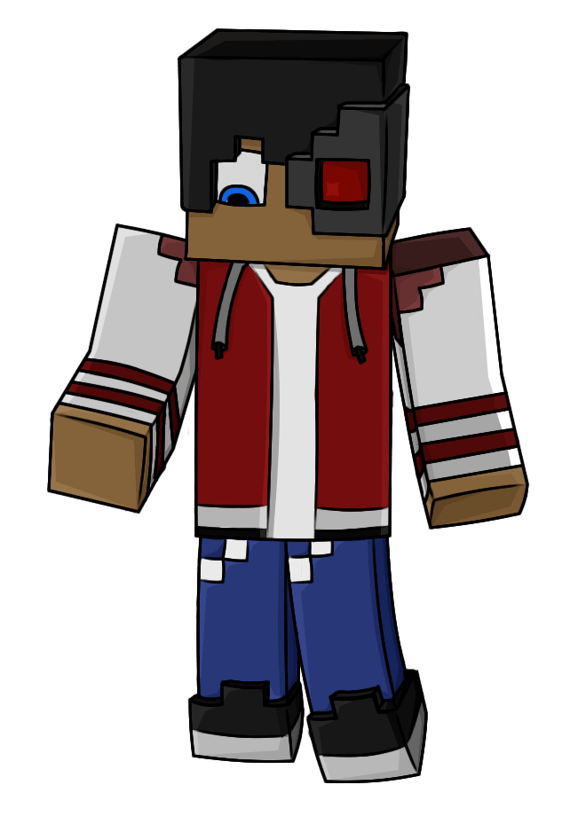 zillaboom : I will make you a vector of your minecraft skin for $5 on  www.fiverr.com.