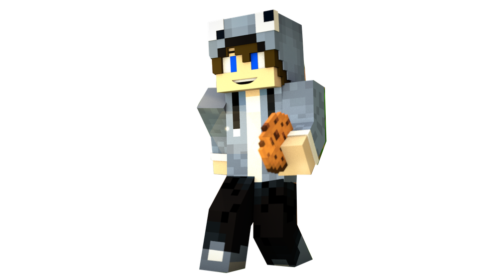 Minecraft Skin Render.