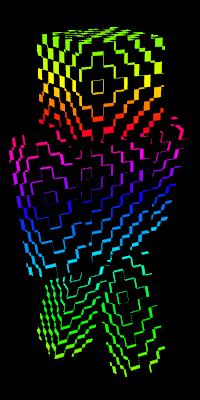 Rainbow Minecraft Skins.