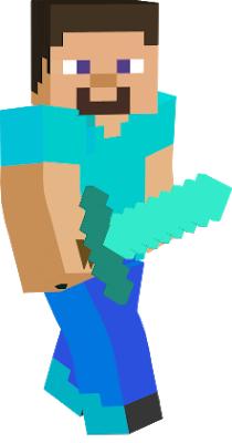Minecraft steve clipart clipart images gallery for free.