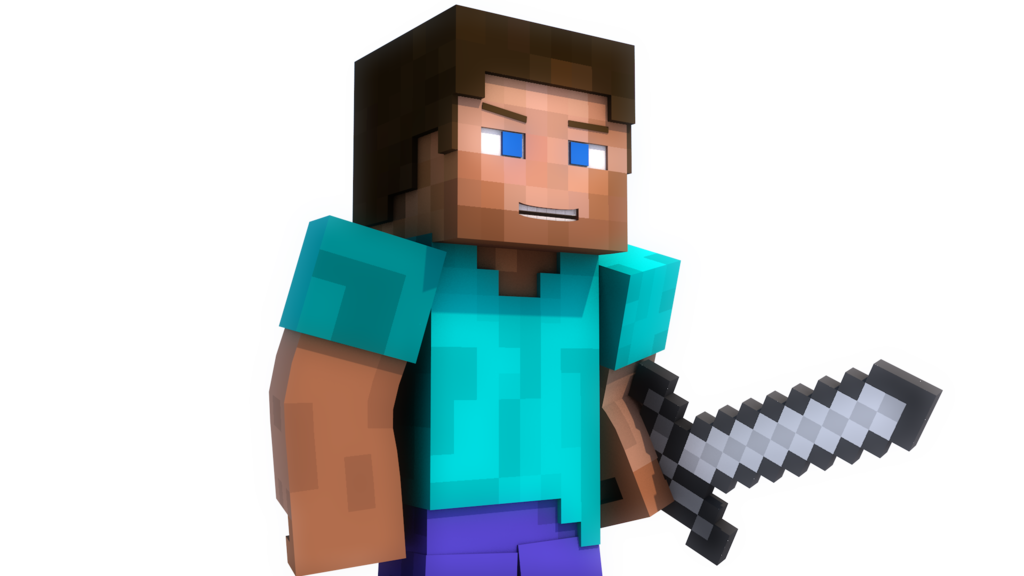 Minecraft Steve Png (+).