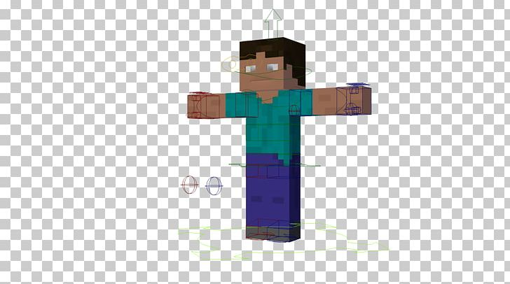 Minecraft Texture Mapping Blender Rendering Fan Art PNG.