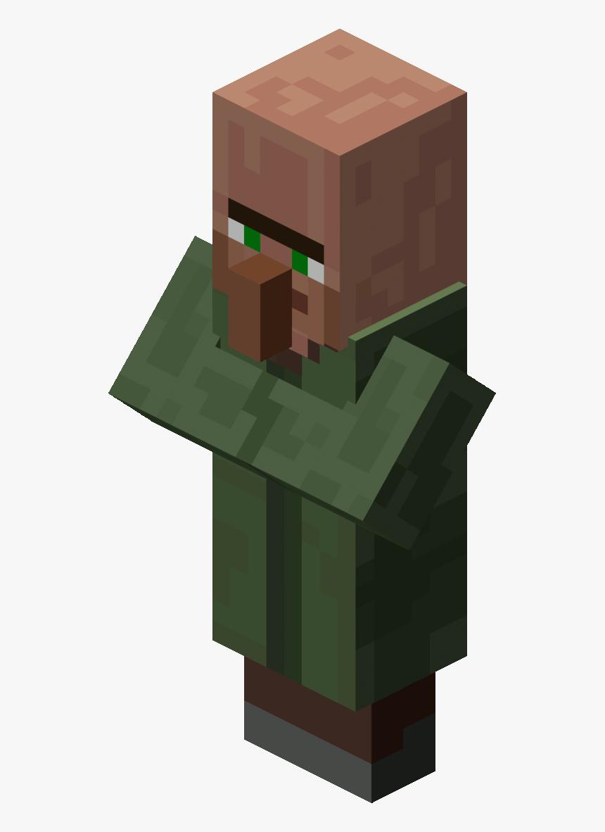 Minecraft Villager , Png Download.