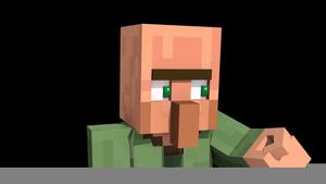 Villager Minecraft Face.