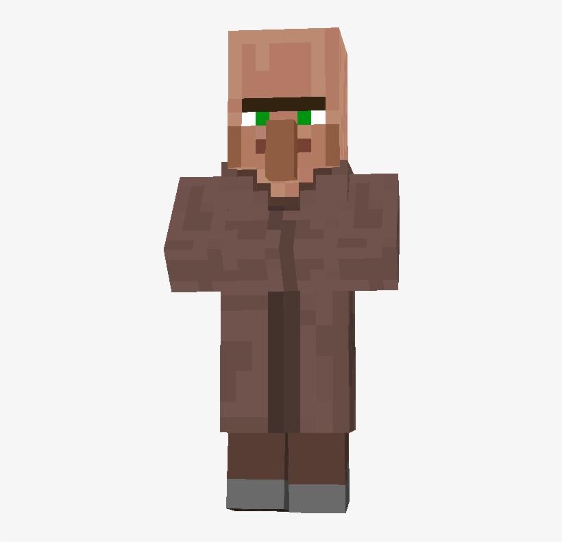 Minecraft Villager Farmer.