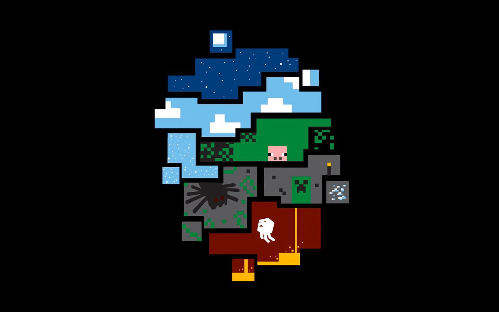 74+] Minecraft Wallpaper For Walls on WallpaperSafari.
