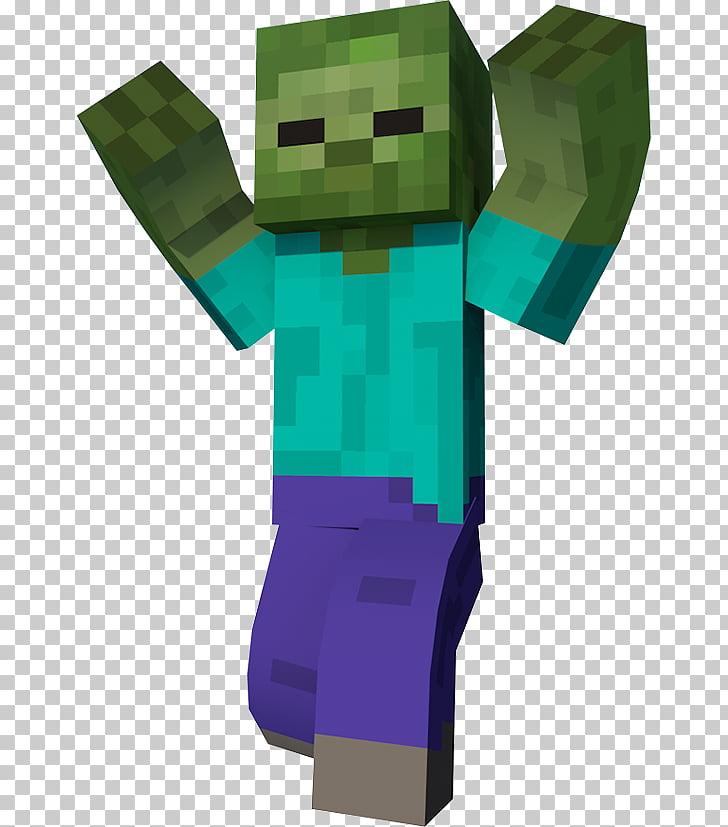 Minecraft Zombie apocalypse Mod Mob, Minecraft Zombie PNG.