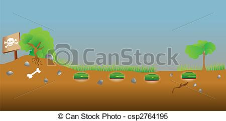 Minefield Clipart and Stock Illustrations. 61 Minefield vector EPS.