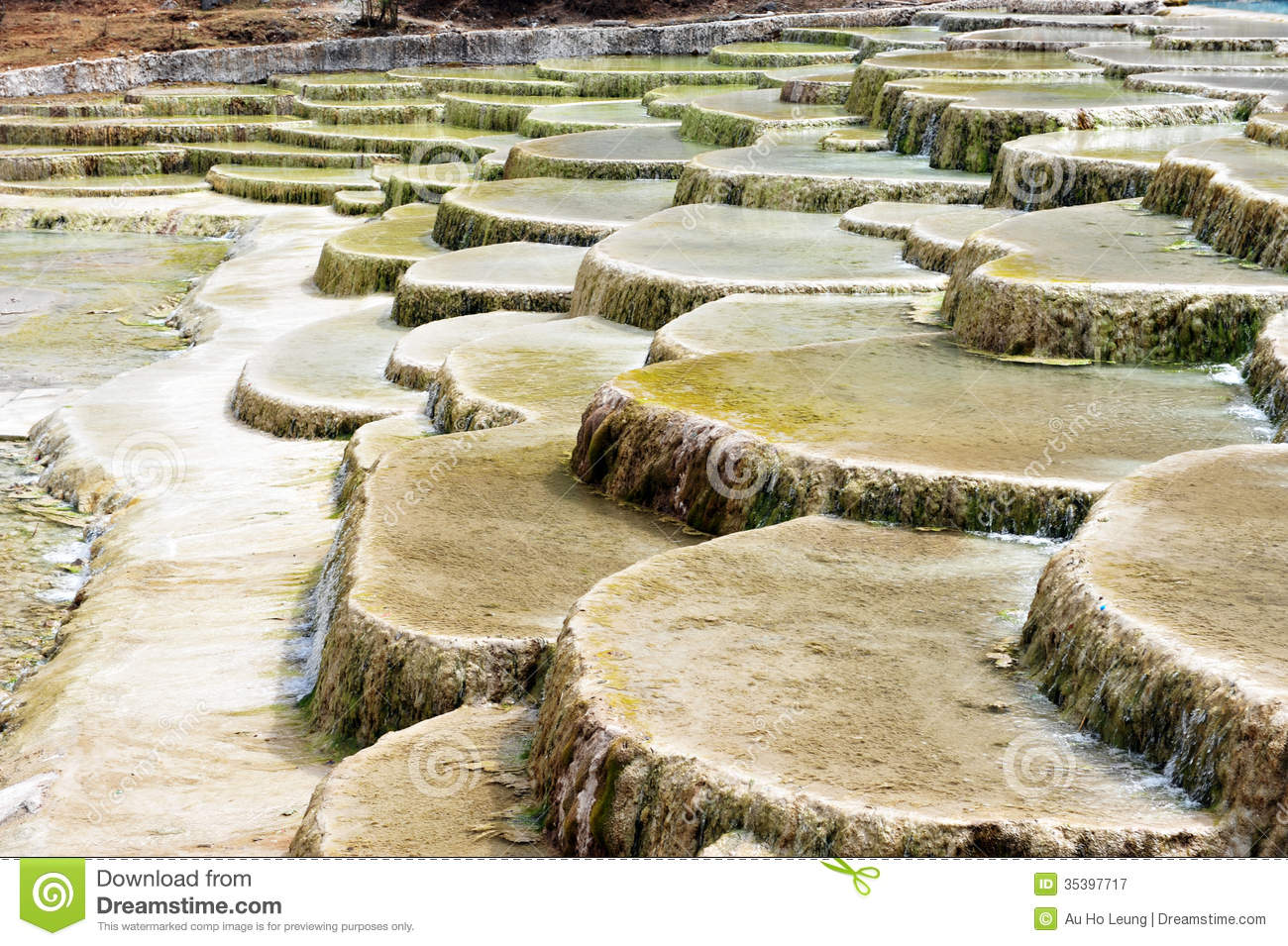 Mineral Pool, Jiuzhaigou CHINA Royalty Free Stock Photography.