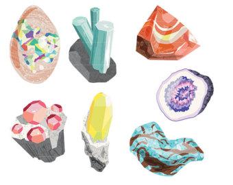 minerals clipart.