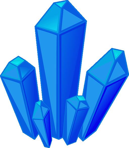 Minerals clip art.