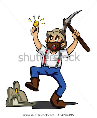 Prospector Stock Photos, Royalty.