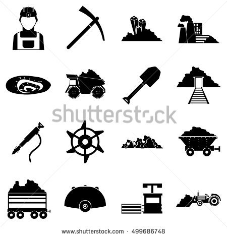 Underground Mining Stock Photos, Royalty.