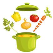 Soups Clipart.