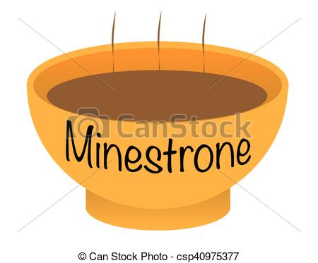 Minestrone soup Clipart and Stock Illustrations. 31 Minestrone.