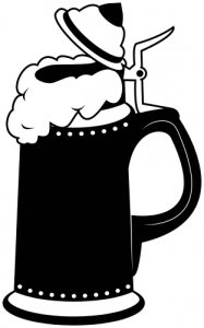 Beer Stein Boot Clip Art.