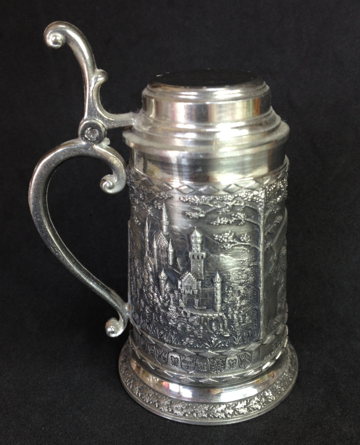 SKS ZINN Mini Beer Stein Made in Germany 95% by crackersinbed.