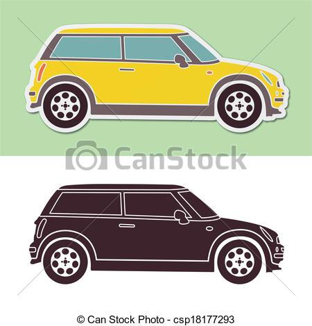 Mini cooper Vector Clipart Illustrations. 25 Mini cooper clip art.
