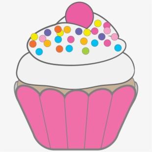 Mini Pink Vanilla Fondant Cupcakes.
