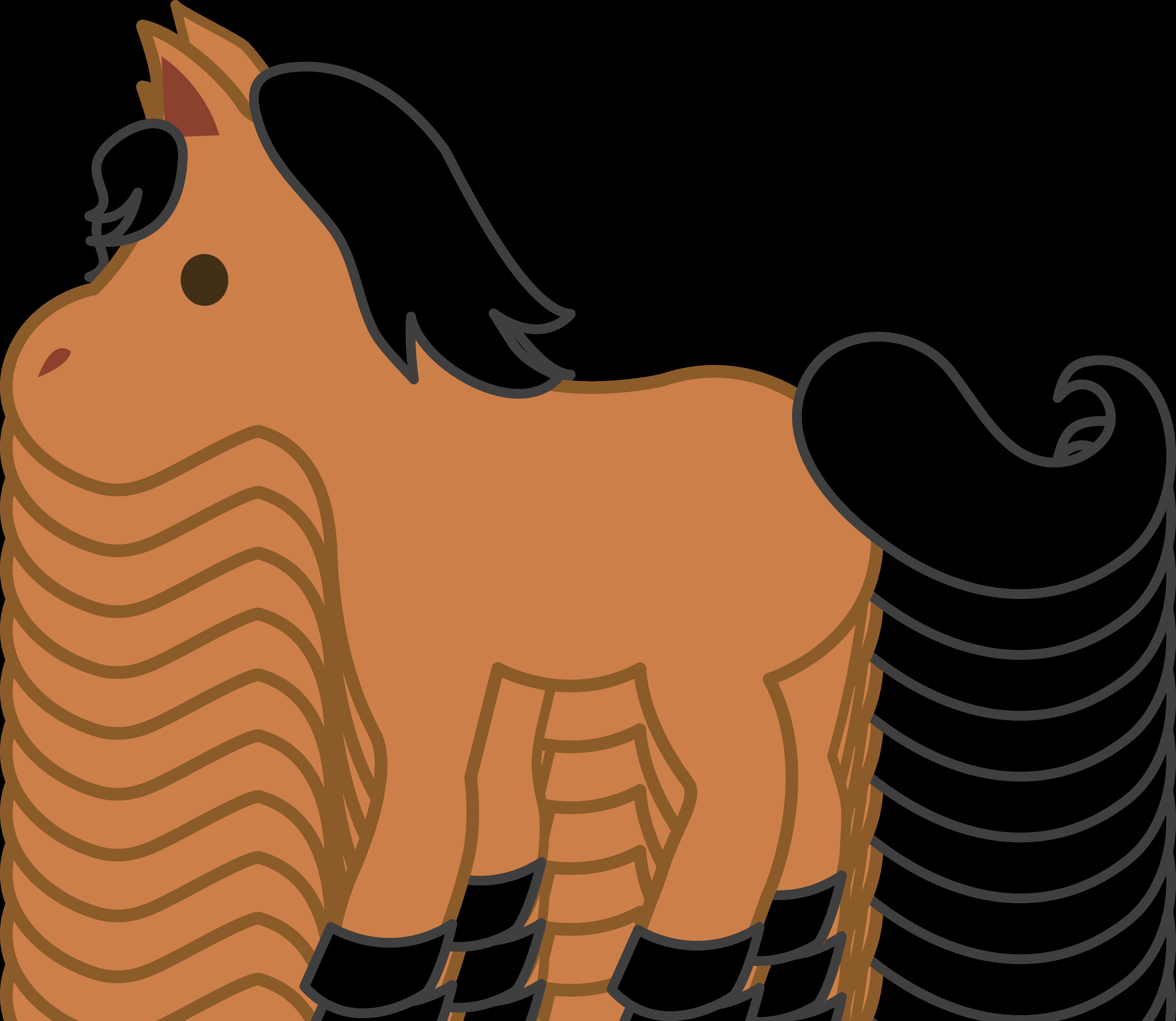 Mini Horse Clipart.
