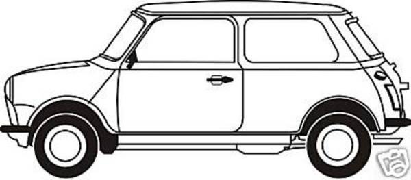 Classic Mini Cooper EPS Mini;mini Cooper;vector.