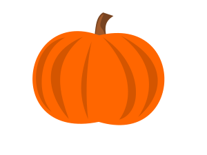 Mini pumpkin clipart.