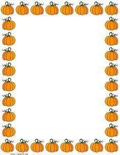 Free Halloween Clip Art Halloween Borders Pumpkins Halloween.