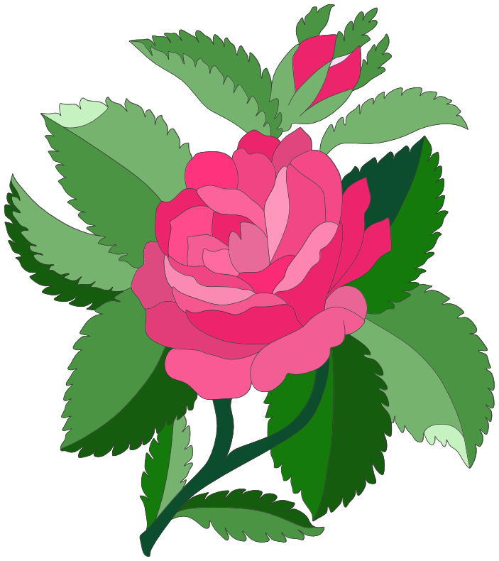 Rose 4 Clip Art Download.