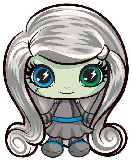 Frankie Stein. Monster High Mini. Space Monsters.