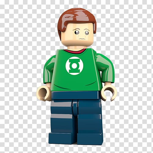 Sheldon Cooper Lego minifigure Penny Lego Marvel Super.
