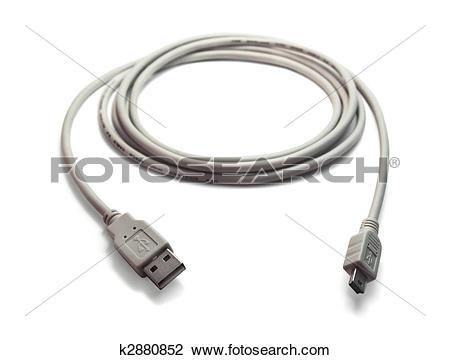 Stock Photo of USB.