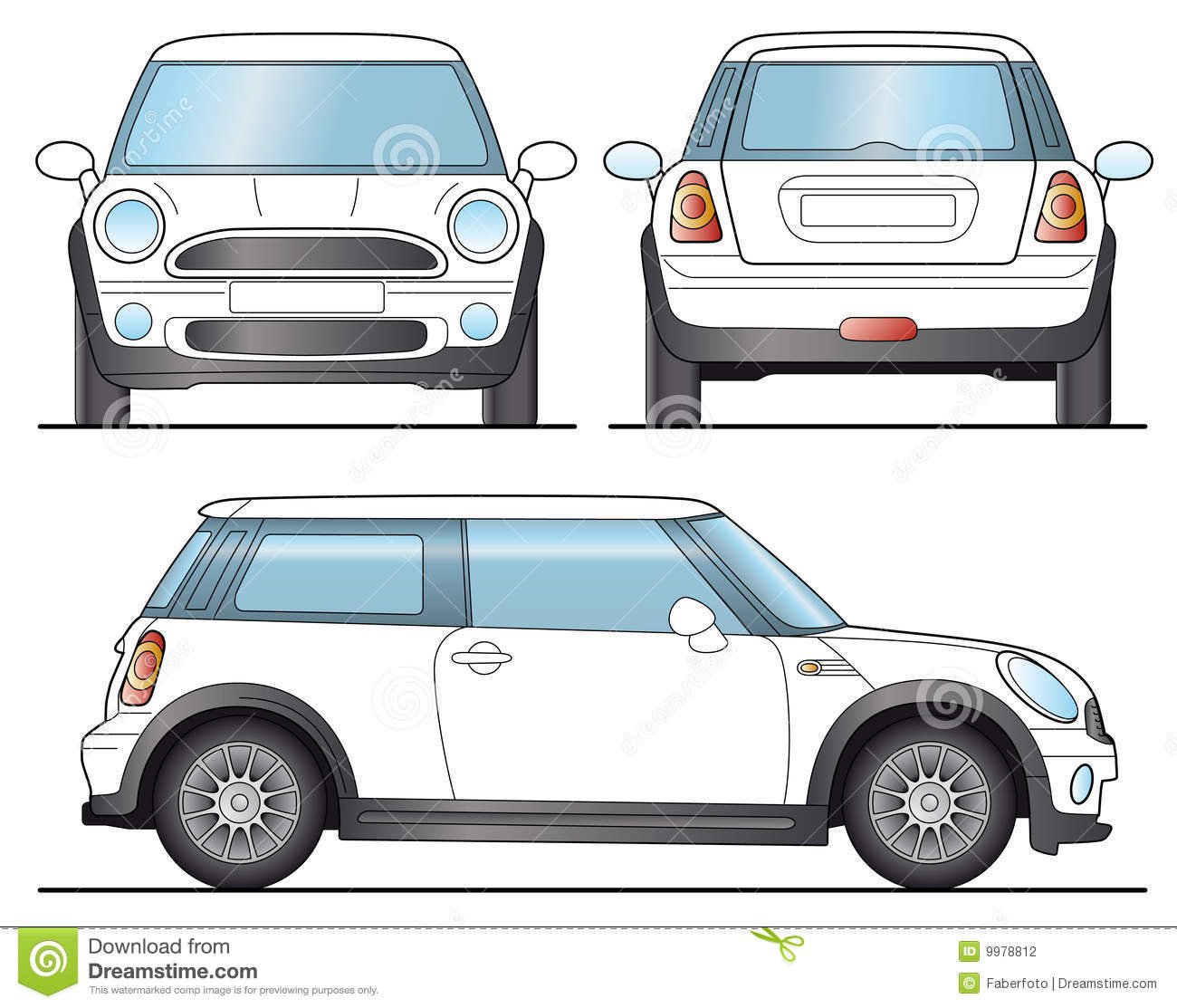 Mini Stock Illustrations.