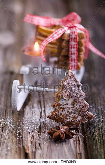 Miniature Christmas Tree Star On Stock Photos & Miniature.