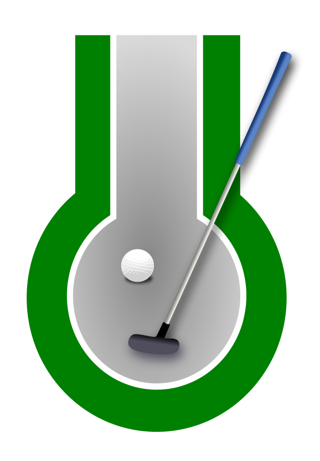Mini Golf Clip Art.