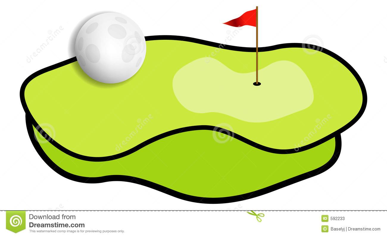 Miniature Golf Clipart.