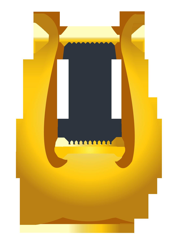 Mini Harp Clipart.