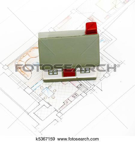 Stock Illustration of miniature house k5367159.