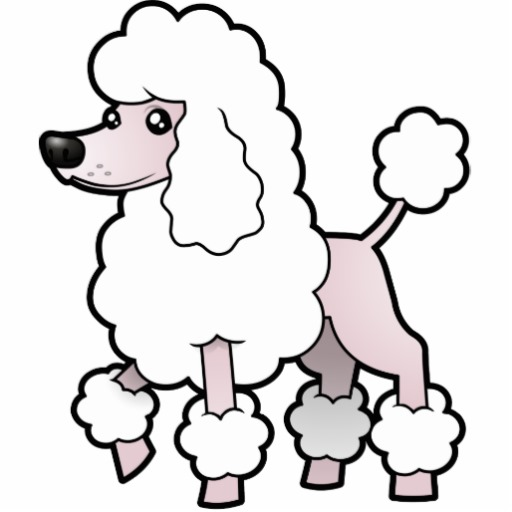 Poodle Cartoon.