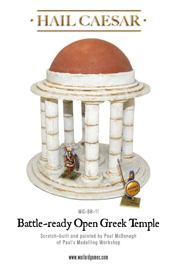 New: Battle Ready Greek temple! • Warlord Games.