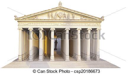 Picture of Temple Artemis.