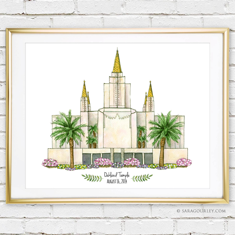 Mormon temple.