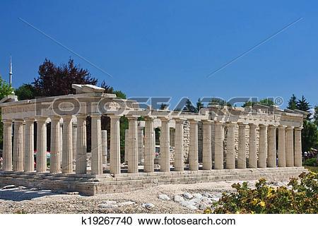 Stock Photography of Parthenon on the Acropolis, Athens.Klagenfurt.