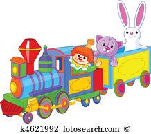 Miniature train Clip Art EPS Images. 370 miniature train clipart.