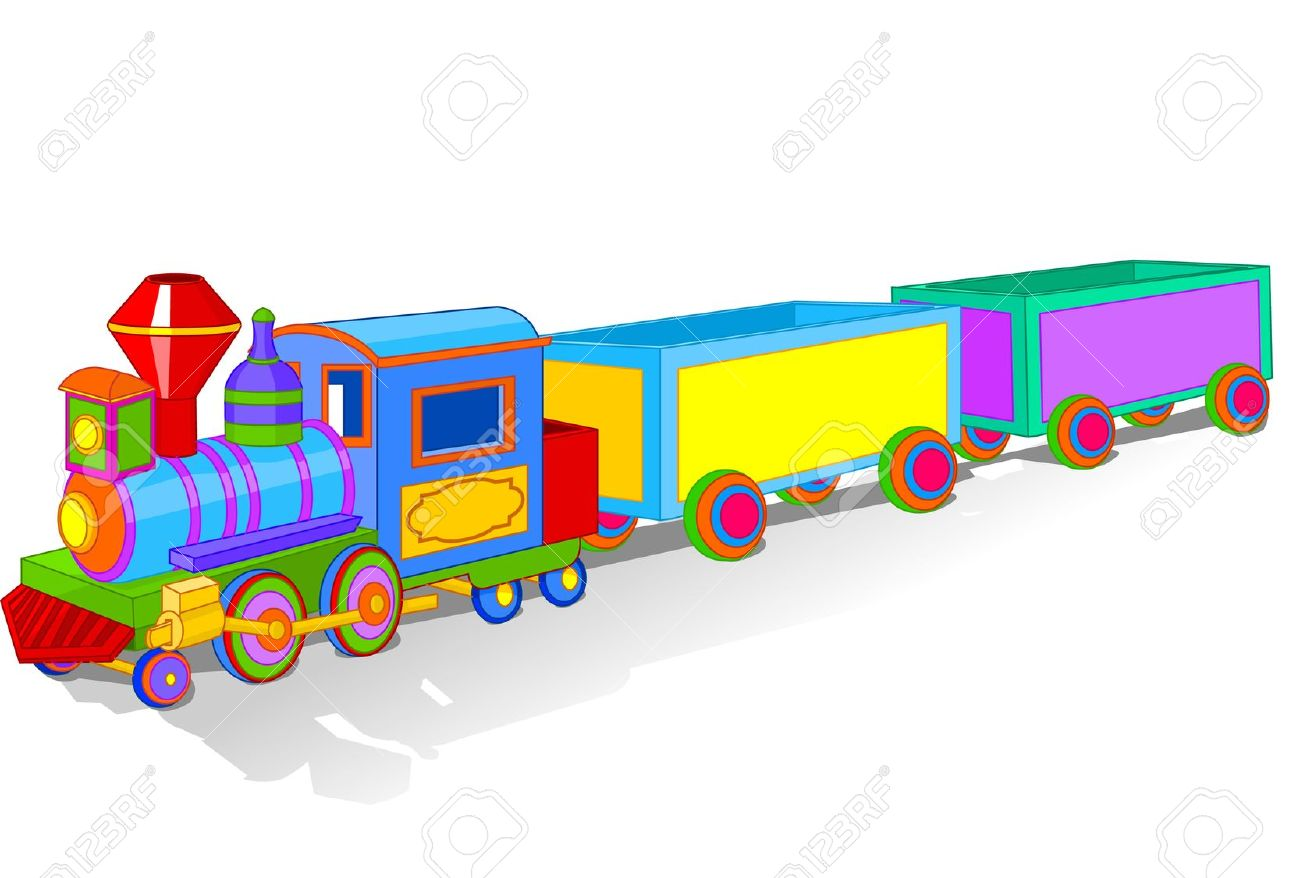 Toy train pictures clip art.