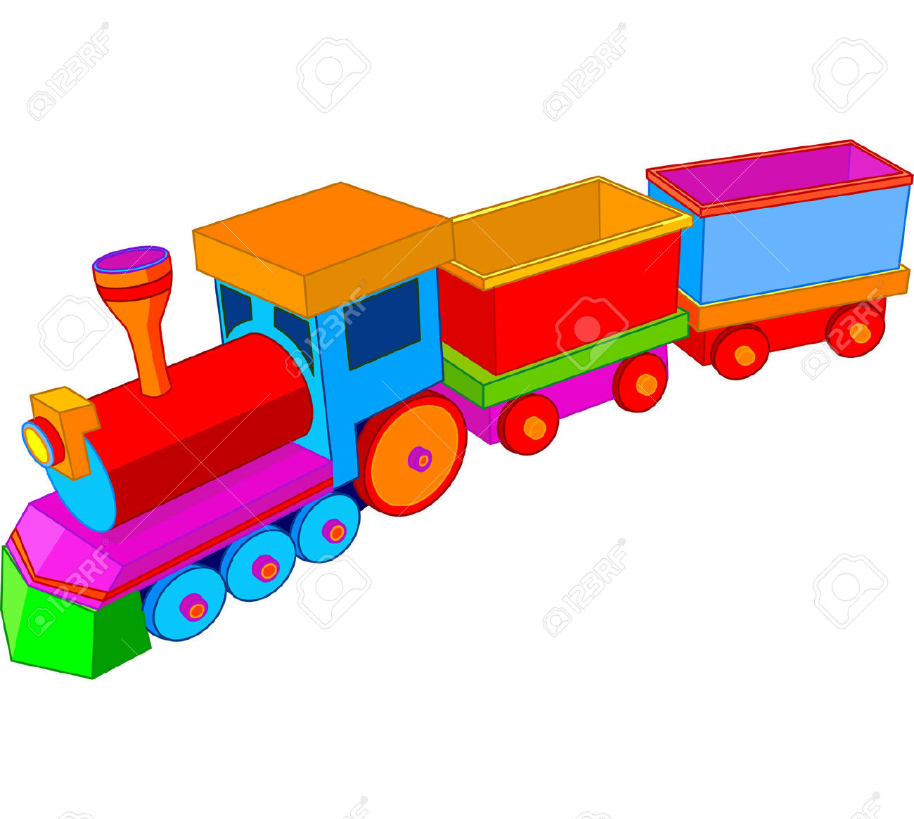 390 Miniature Train Cliparts, Stock Vector And Royalty Free.