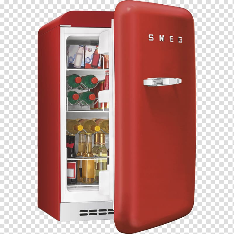 Refrigerator Smeg FAB10 Minibar Home appliance, refrigerator.