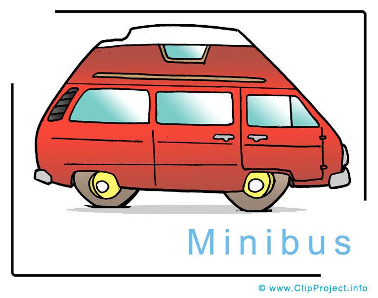 Minibus Image Clip Art free.