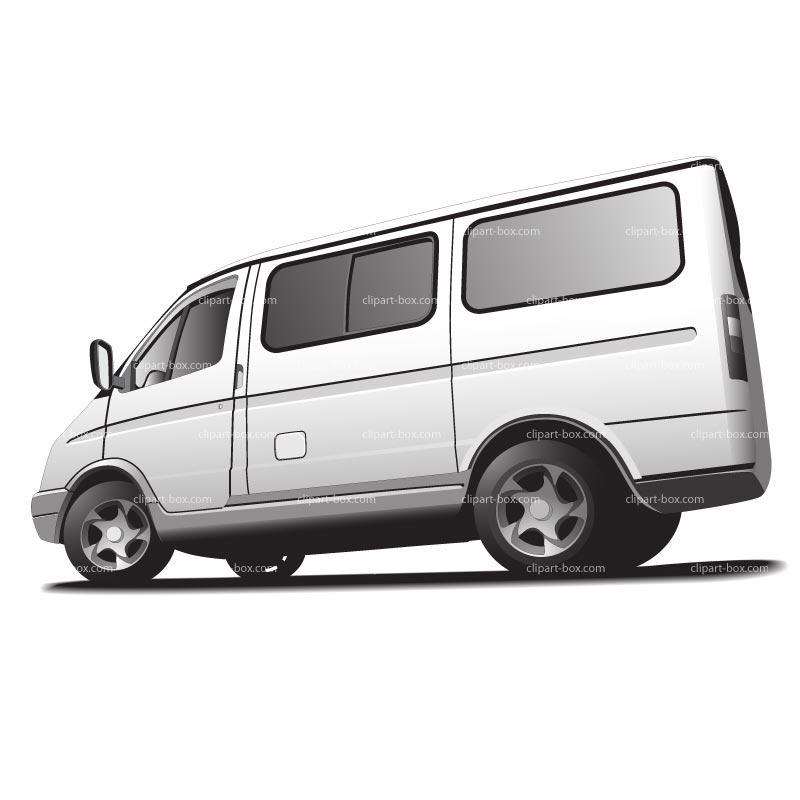Mini Bus Clipart.