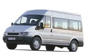 Minibus clipart.