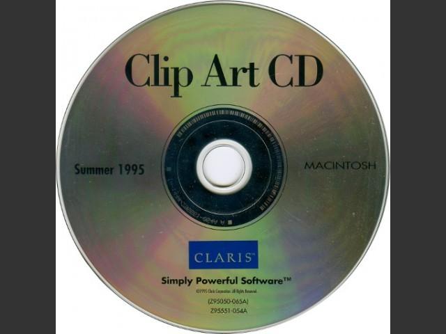 ClarisWorks Clip Art.